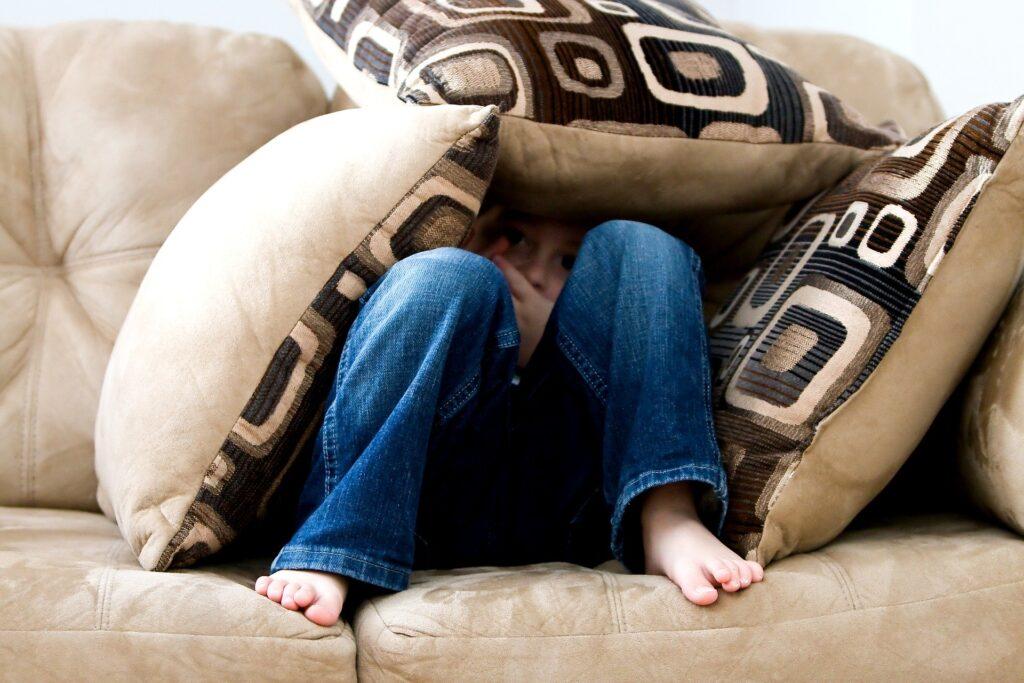 Paura e ansia post-covid - bambino