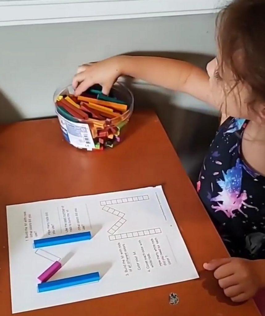 Uso dei regoli - giochi educativi