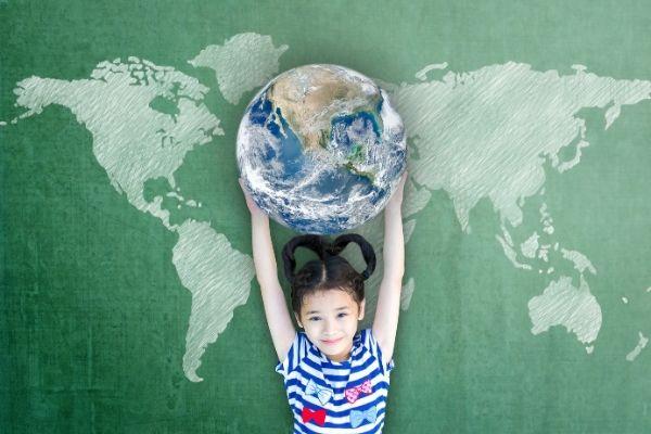 cittadini del mondo - bambini bilingue