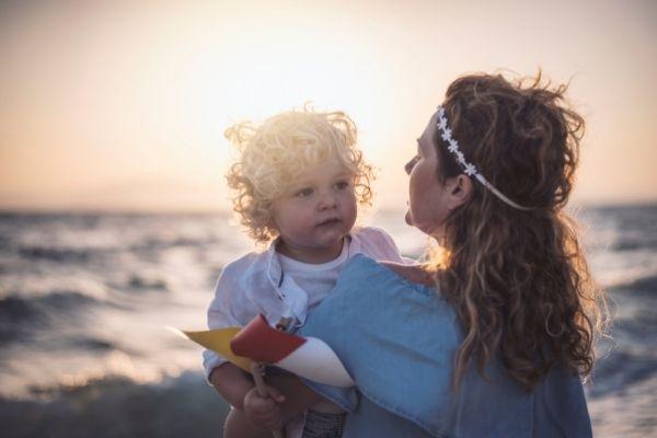Mamma con bambino - autostima del bambino